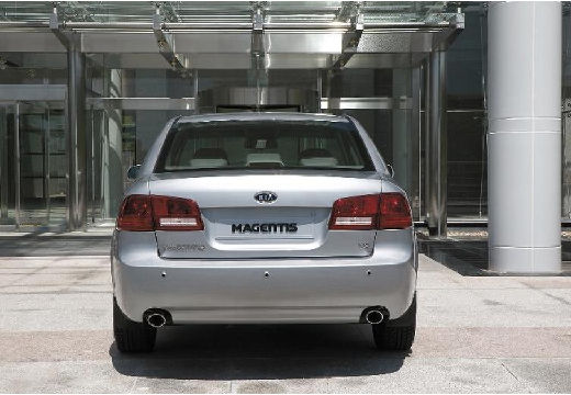 KIA Magentis sedan silver grey tylny