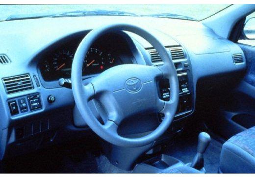 Toyota Picnic van tablica rozdzielcza