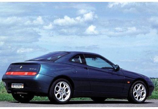 ALFA ROMEO GTV coupe zielony tylny prawy