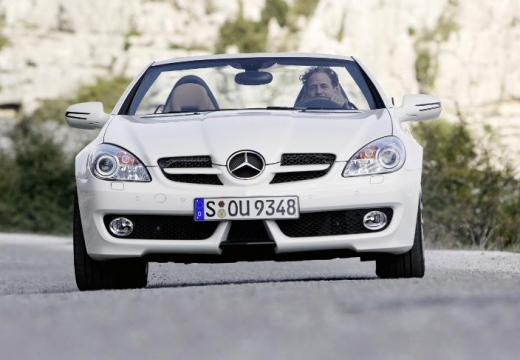 MERCEDES-BENZ Klasa SLK roadster biały przedni