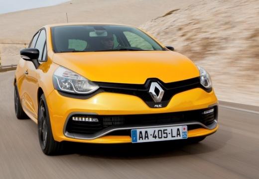 RENAULT Clio IV I hatchback żółty przedni prawy