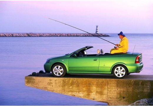 OPEL Astra II Cabriolet kabriolet zielony tylny lewy