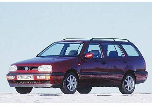 VOLKSWAGEN Golf III Variant kombi bordeaux (czerwony ciemny) przedni lewy
