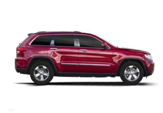 JEEP Grand Cherokee V kombi czerwony jasny boczny prawy