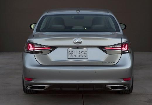 LEXUS GS V sedan szary ciemny tylny