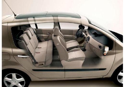 RENAULT Modus II hatchback przekrój