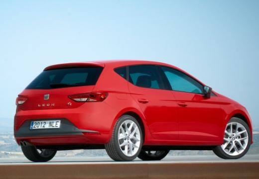 SEAT Leon IV hatchback czerwony jasny tylny prawy