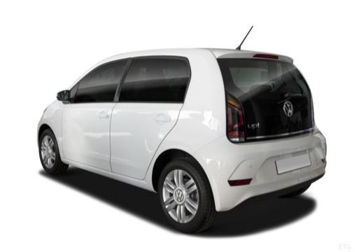 VOLKSWAGEN up e- FL hatchback biały tylny lewy
