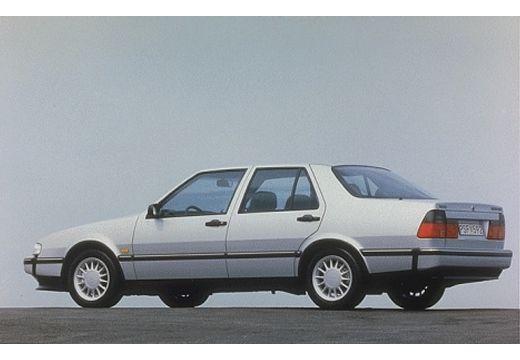 SAAB 9000 CD II sedan silver grey tylny lewy