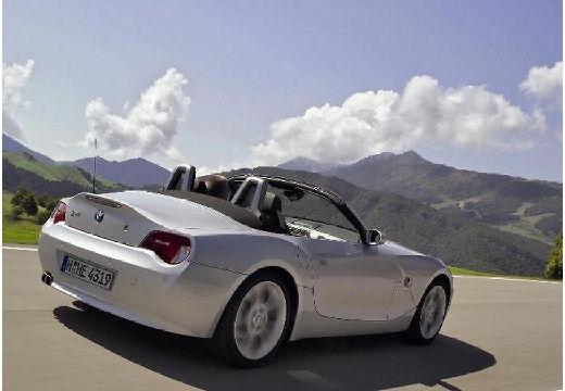 BMW Z4 E85 II roadster silver grey tylny prawy