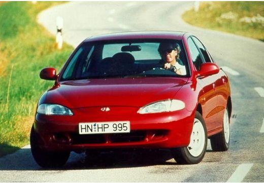 HYUNDAI Lantra II sedan czerwony jasny przedni lewy