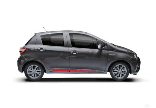 Toyota Yaris hatchback boczny prawy