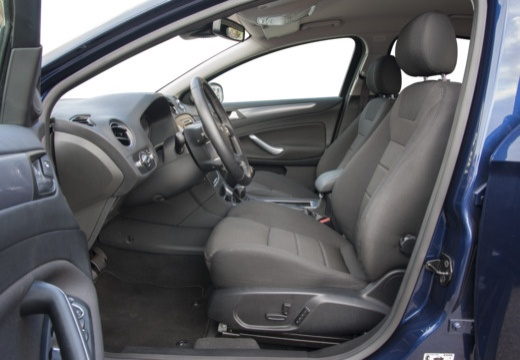 FORD Mondeo VII sedan niebieski jasny wnętrze