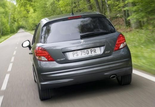 PEUGEOT 207 II hatchback szary ciemny tylny