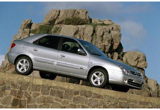 CITROEN Xsara II hatchback silver grey przedni prawy