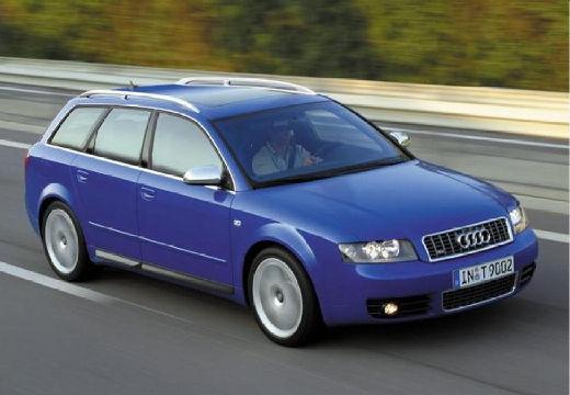 AUDI A4 Avant 8E I kombi niebieski jasny przedni prawy