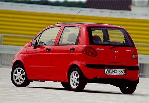 DAEWOO / FSO Matiz FSO hatchback czerwony jasny tylny lewy