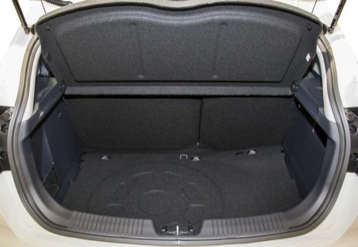 KIA Rio V hatchback przestrzeń załadunkowa