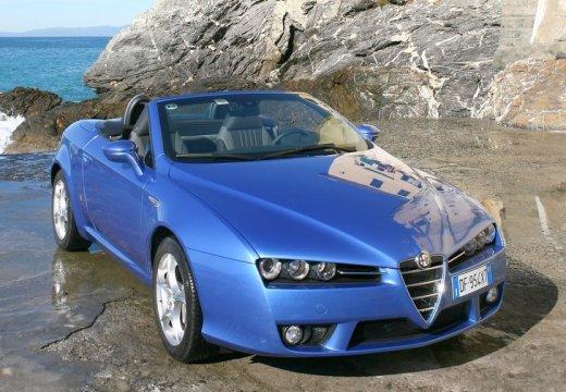 ALFA ROMEO Spider V kabriolet niebieski jasny przedni prawy