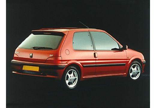 PEUGEOT 106 II hatchback bordeaux (czerwony ciemny) tylny prawy