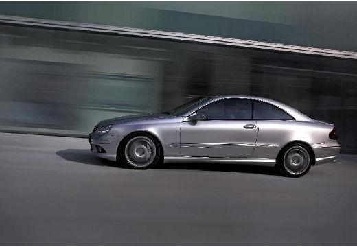 MERCEDES-BENZ Klasa CLK CLK C 209 II coupe silver grey boczny lewy