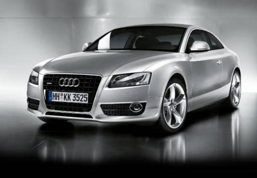AUDI A5 I coupe silver grey przedni lewy