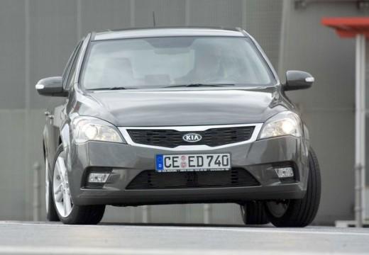 KIA Ceed II hatchback silver grey przedni prawy