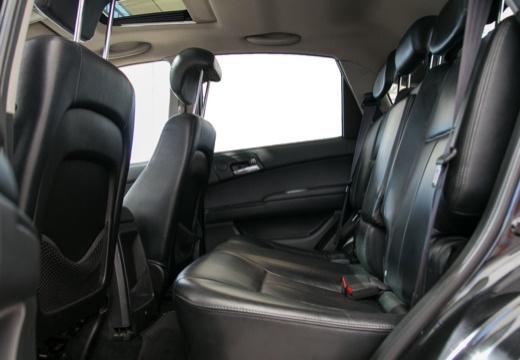 SSANG YONG Actyon hatchback czarny wnętrze
