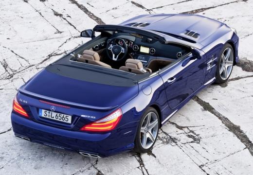 MERCEDES-BENZ Klasa SL SL 231 I roadster niebieski jasny tylny prawy