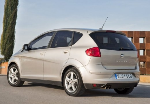 SEAT Altea XL II hatchback silver grey tylny lewy