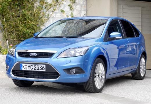 FORD Focus IV hatchback niebieski jasny przedni lewy