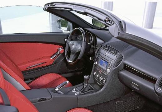 MERCEDES-BENZ Klasa SLK SLK R 171 II roadster szary ciemny tablica rozdzielcza
