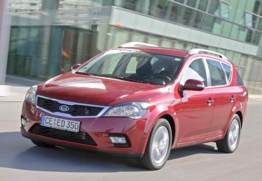 KIA Ceed Sporty Wagon II kombi czerwony jasny przedni lewy