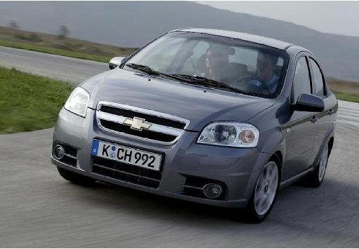 CHEVROLET Aveo II sedan silver grey przedni lewy