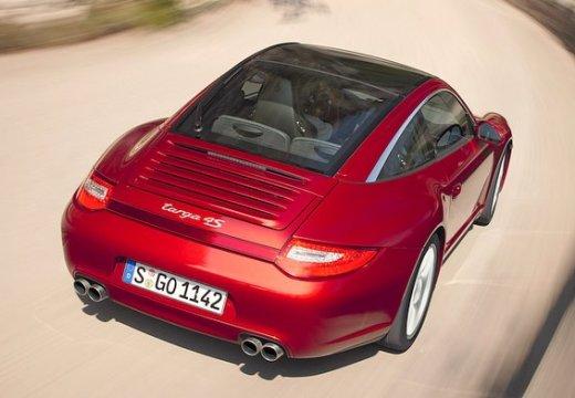 PORSCHE 911 997 coupe czerwony jasny tylny prawy