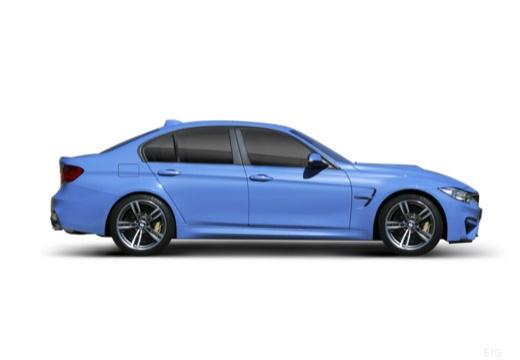 BMW Seria 3 F30 sedan boczny prawy