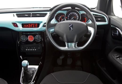 CITROEN DS3 I hatchback szary ciemny tablica rozdzielcza