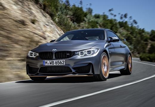 BMW Seria 4 F32 coupe szary ciemny przedni lewy