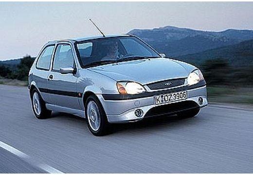 FORD Fiesta IV hatchback silver grey przedni prawy