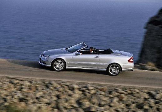 MERCEDES-BENZ Klasa CLK CLK Cabriolet A 209 II kabriolet silver grey przedni lewy