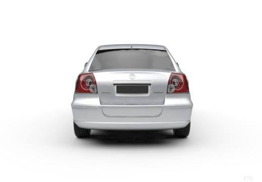 Toyota Avensis Liftback IV hatchback tylny