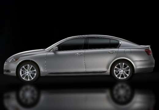 LEXUS GS III sedan silver grey boczny lewy