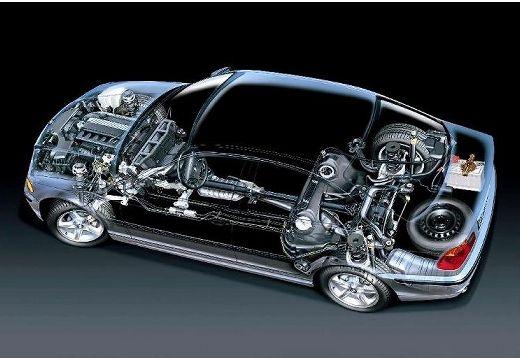 BMW Seria 3 E46 sedan prześwietlenie