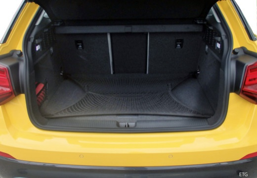AUDI Q2 hatchback przestrzeń załadunkowa