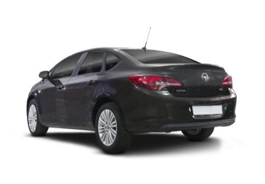 OPEL Astra IV sedan czarny tylny lewy
