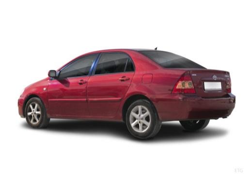 Toyota Corolla VII sedan czerwony jasny tylny lewy