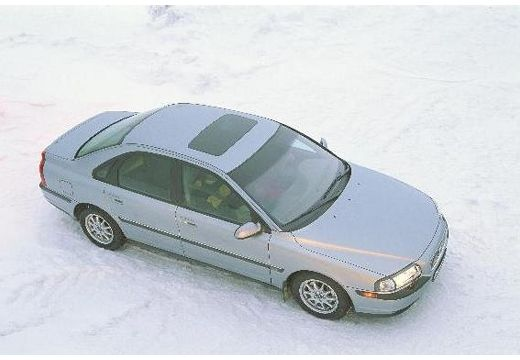 VOLVO S80 I sedan silver grey górny przedni