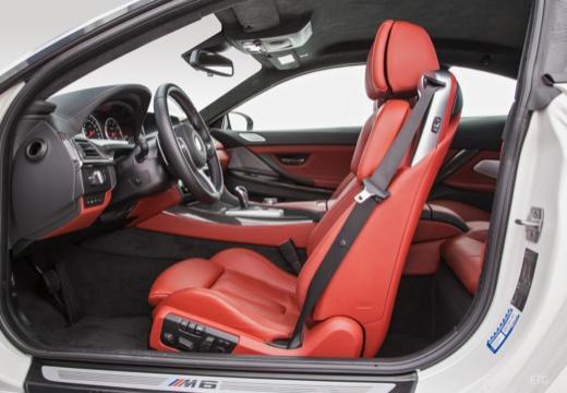 BMW Seria 6 coupe wnętrze