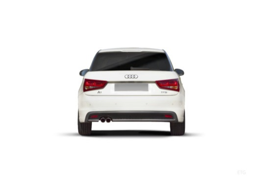 AUDI A1 I hatchback tylny