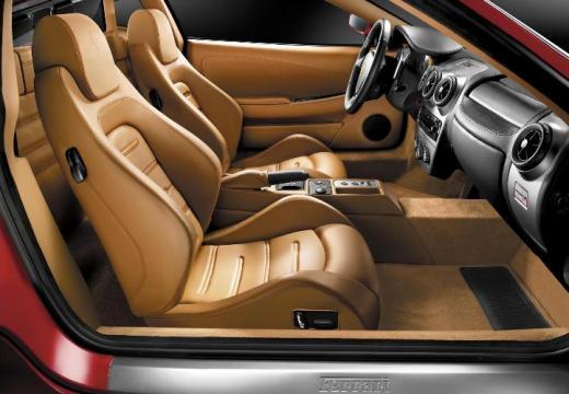 FERRARI 430 F coupe wnętrze